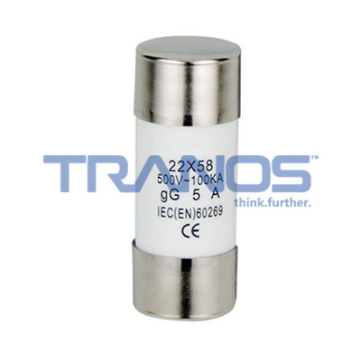 Cylindrical fuses and fuse switch disconnectors